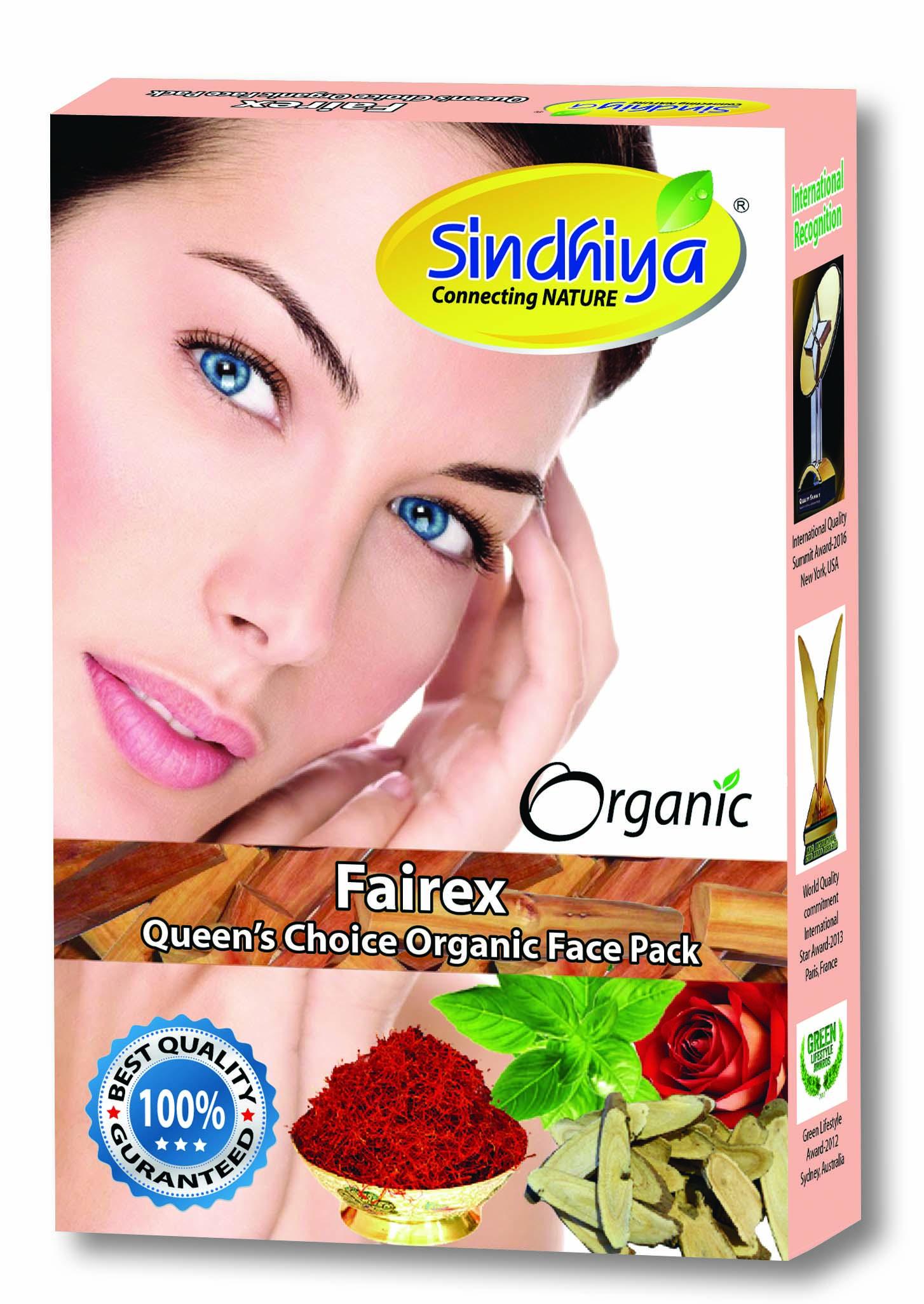 Fairex - Queen's Choice Organic Face Pack