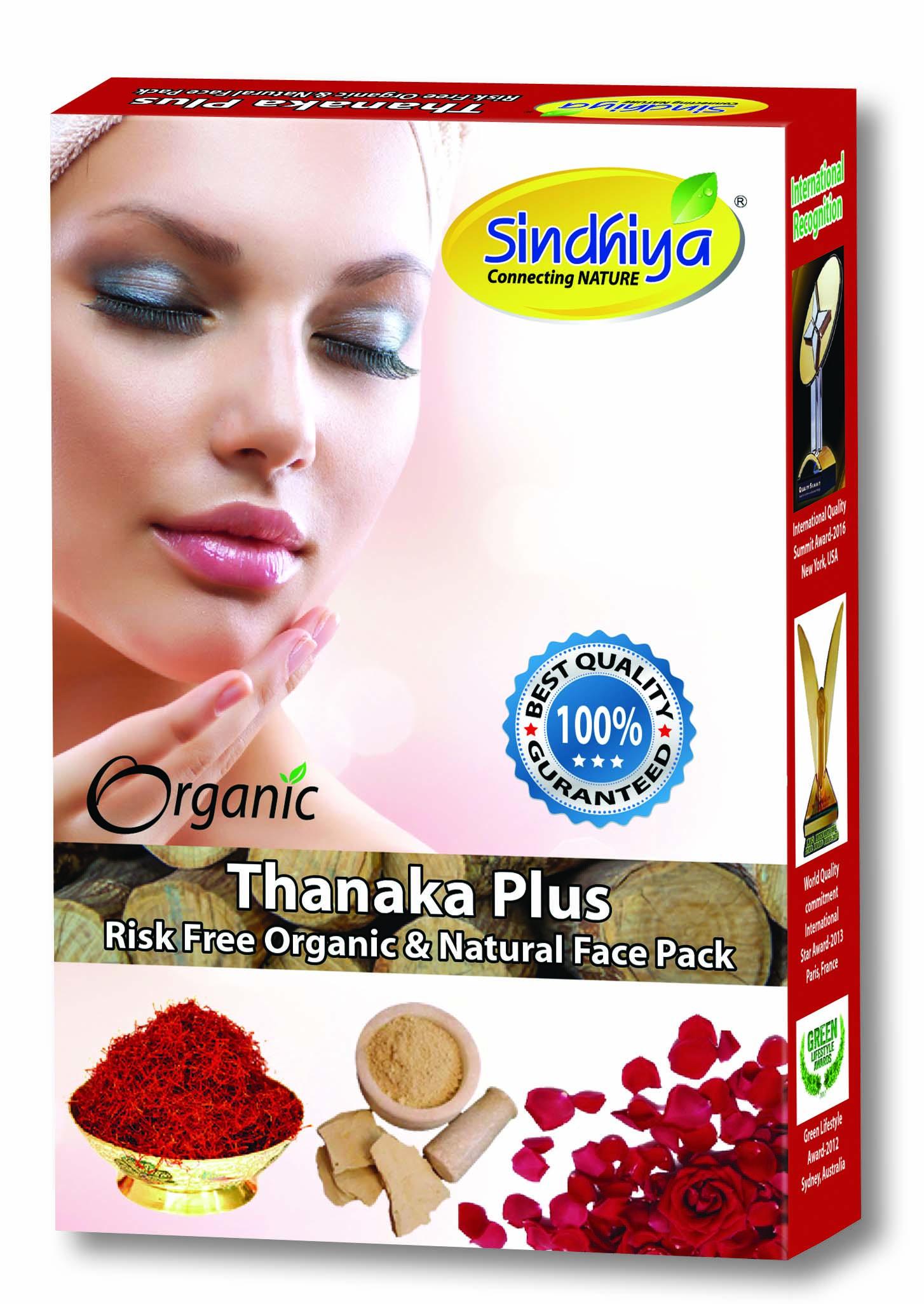 Thanaka Plus - Risk Free Organic & Natural Face Pack